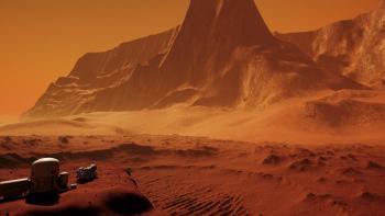 NASA Mars Gezegeninde Kum Fırtınaları ve Çığ Görüntülerini Paylaştı