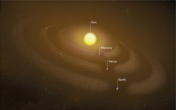 NASA Parker Solar Probe, Venüs'ün Toz Halkasının Görüntülerini Çekmeyi Başardı