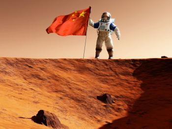 Çin, Zhurong Gezgini Tarafından Çekilen Mars'ın Yeni Görüntülerini Yayınladı!